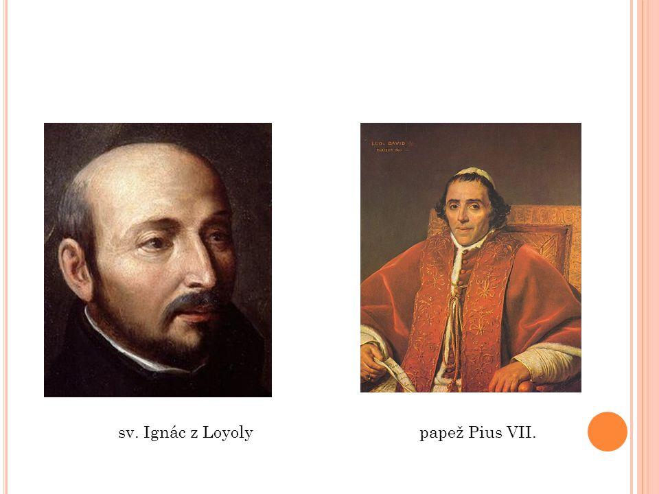 sv. Ignác z Loyolypapež Pius VII.