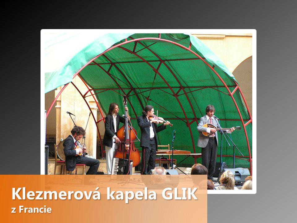 Klezmerová kapela GLIK z Francie