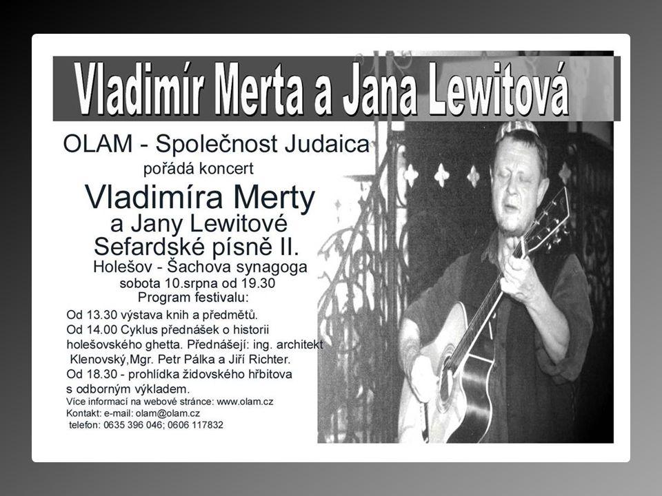 Koncert V. Merty a J. Lewitové