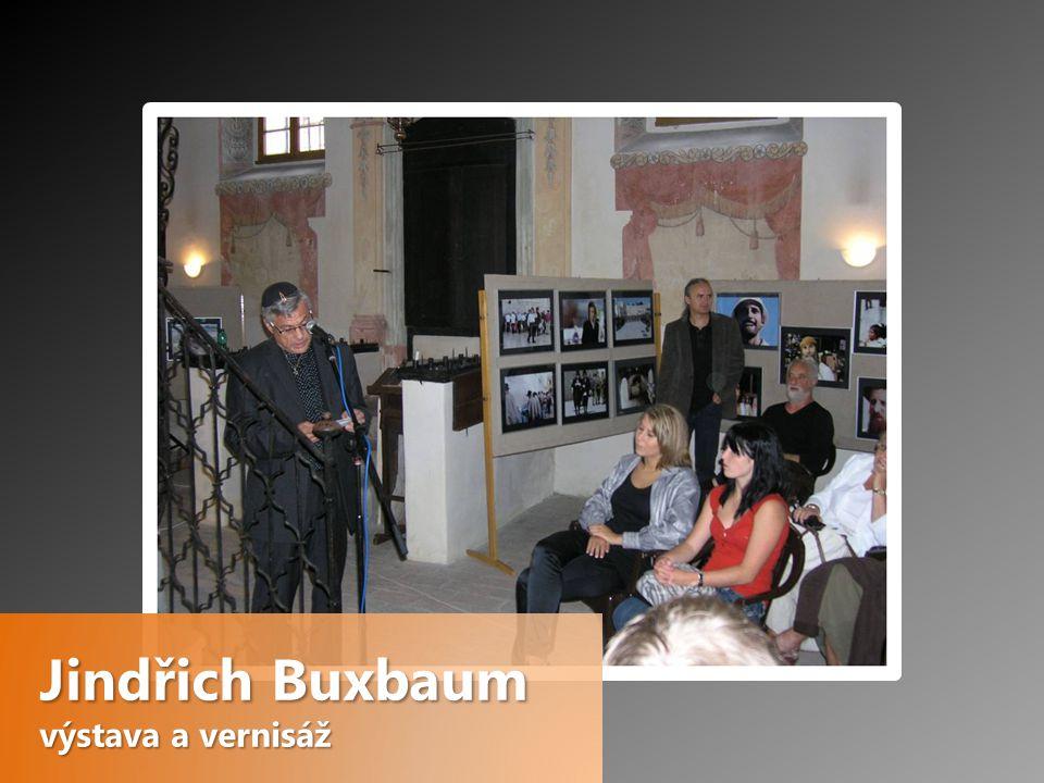 Jindřich Buxbaum výstava a vernisáž
