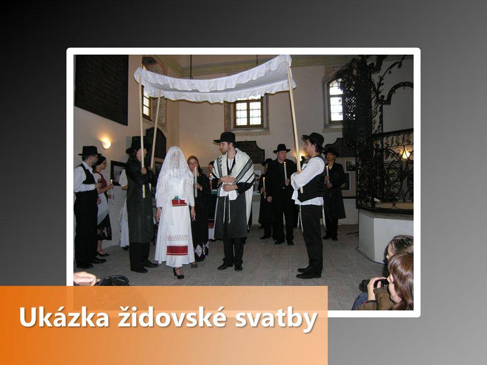 Ukázka židovské svatby
