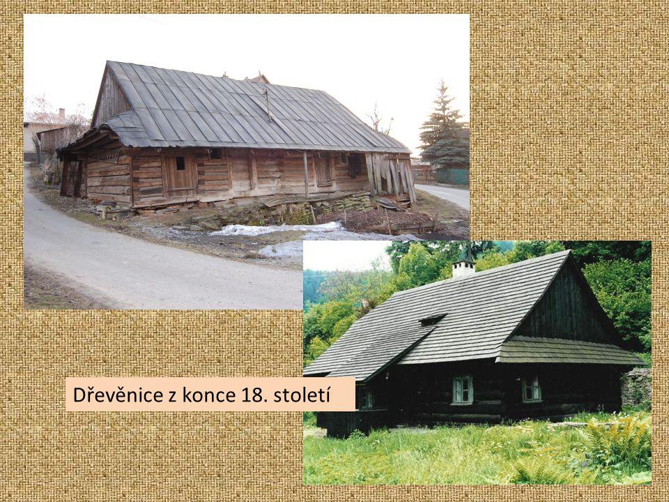 Dřevěnice z konce 18. století