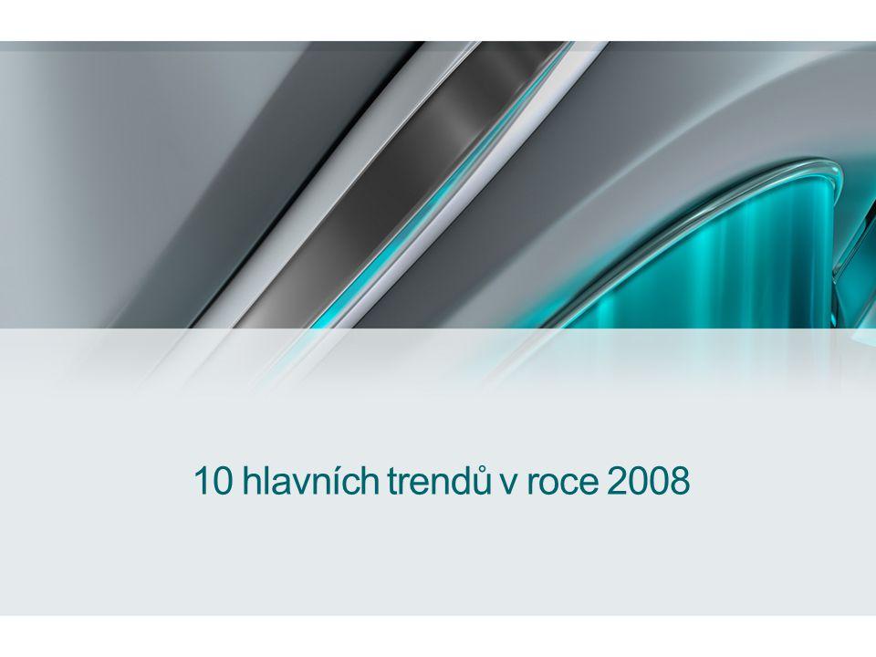 10 hlavních trendů v roce 2008