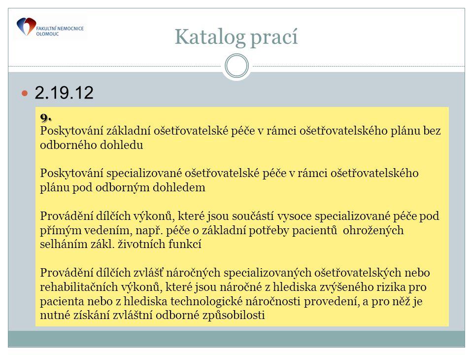 Katalog prací  2.19.12 9.