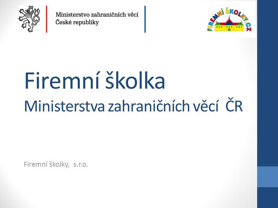Provozní informace • Kapacita školky: 25 dětí • Věk dětí: 1-6 let • Otevírací doba: 7.00-19.00 hod.