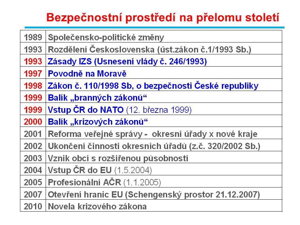  Zákon č.239/2000 Sb., o IZS, ve znění pozdějších předpisů.