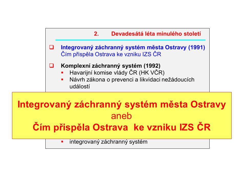 Ostrava v 90. letech minulého století