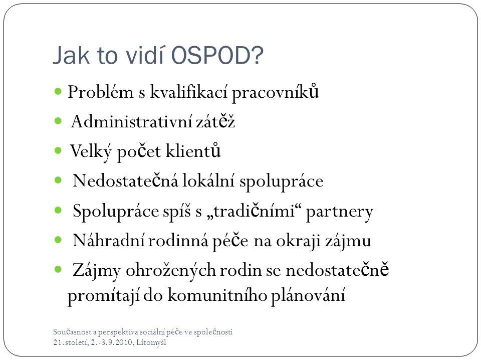 Jak to vidí OSPOD.