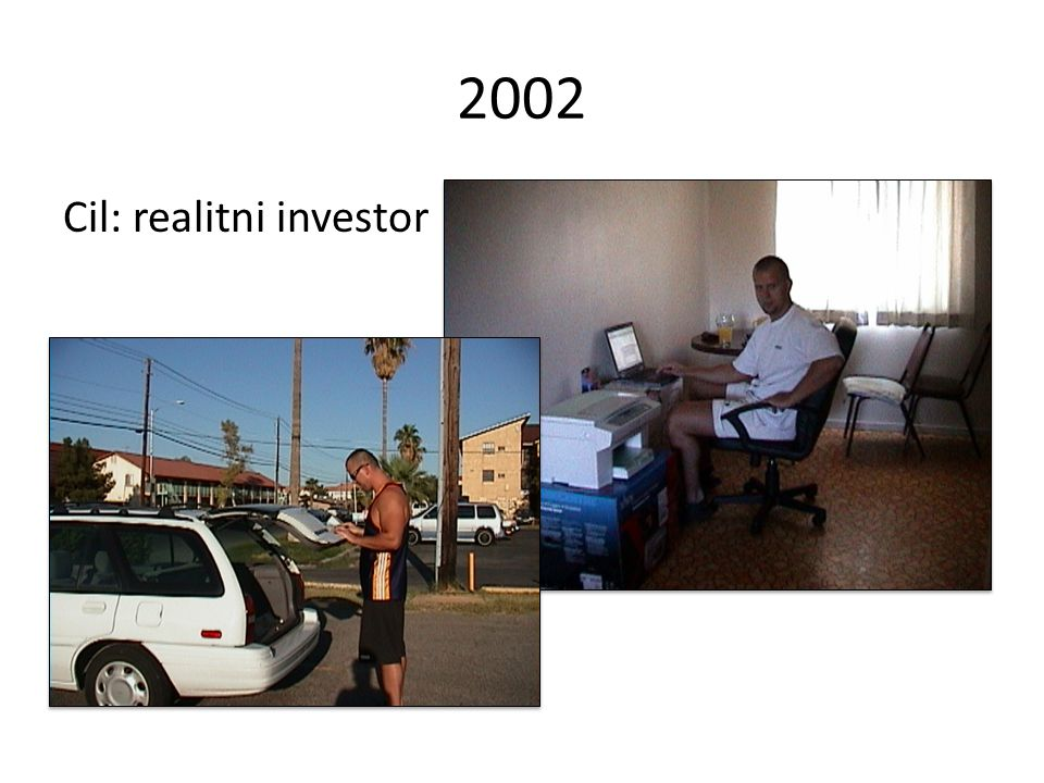 2002 Cil: realitni investor