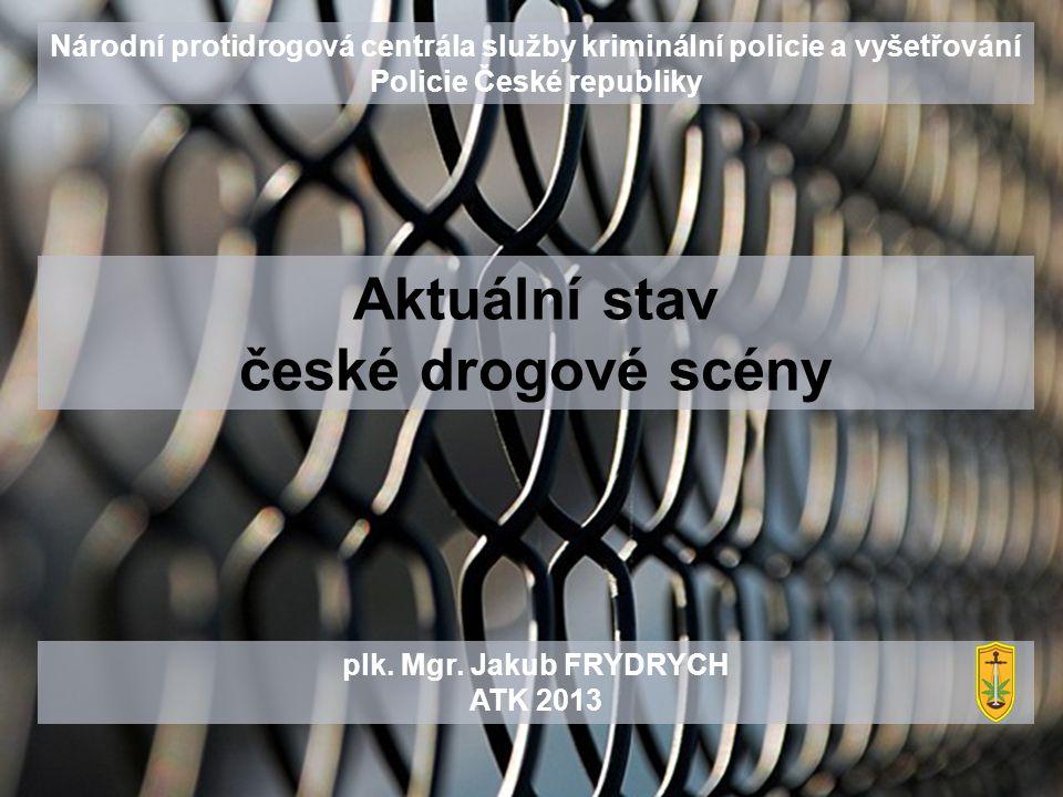  V ČR bylo v r.2012 stíháno pro drogové trestné činy 3068 osob.