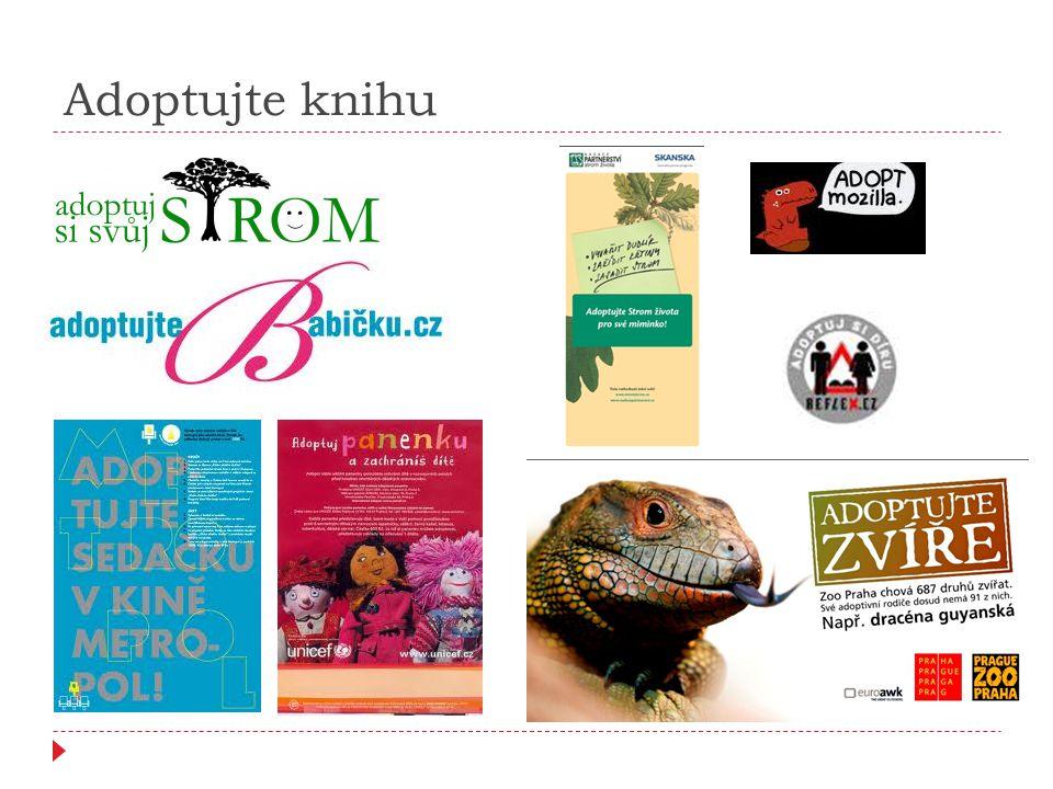 Adoptujte knihu