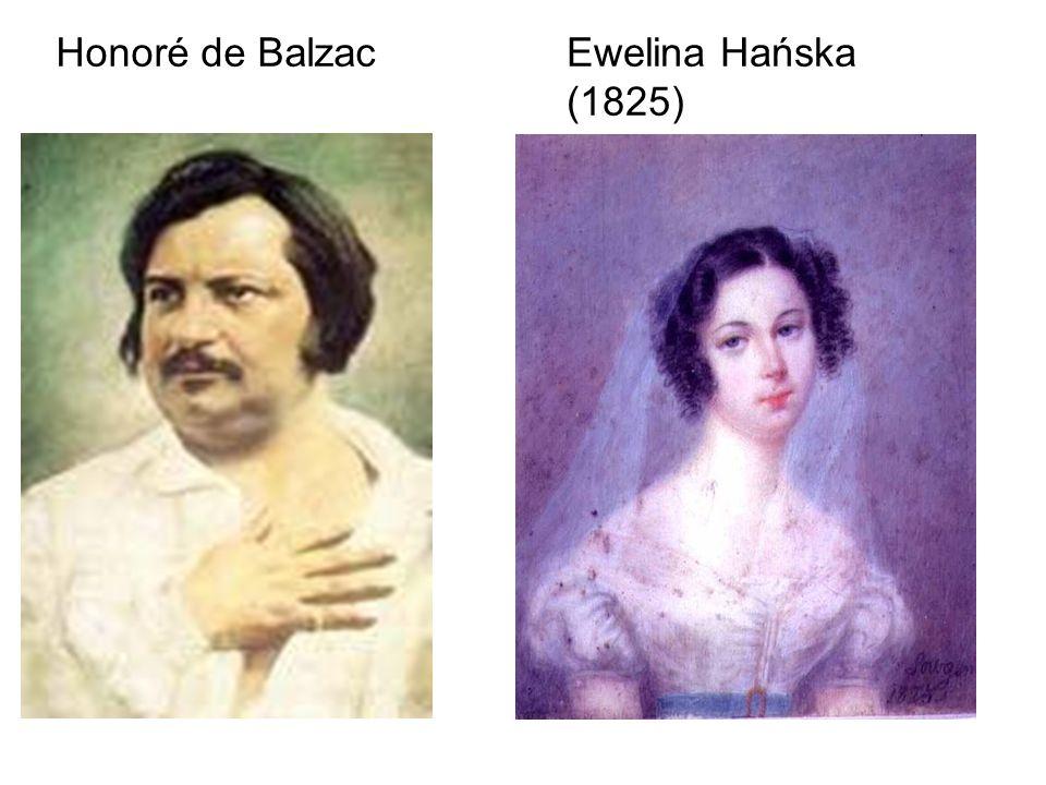 Honoré de BalzacEwelina Hańska (1825)