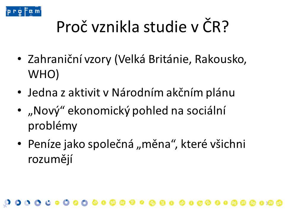 Proč vznikla studie v ČR.