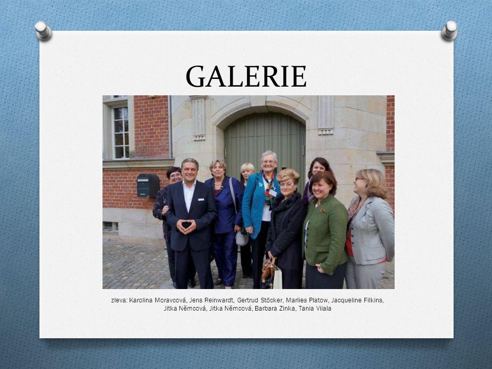 GALERIE zleva: Karolina Moravcová, Jens Reinwardt, Gertrud Stöcker, Marlies Platow, Jacqueline Filkins, Jitka Němcová, Jitka Němcová, Barbara Zinka, Tania Viiala