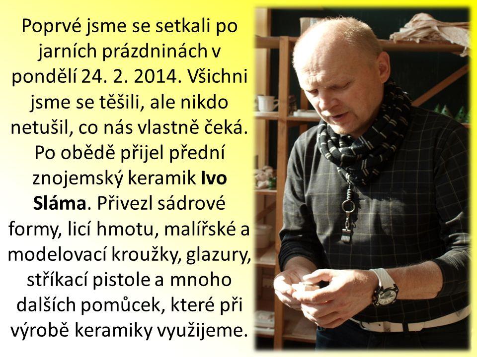 Žáci 5.ročníku návštěvníkům předvedli svoji prezentaci o velkém Učiteli národů – Janu Amosu Komenském.