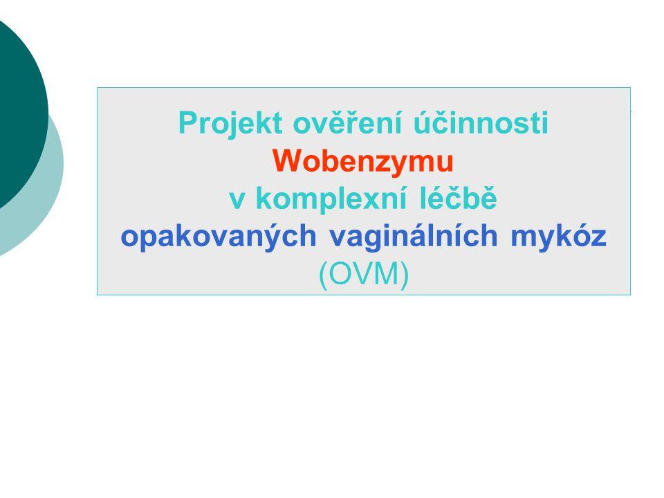 Projekt ověření účinnosti Wobenzymu v komplexní léčbě opakovaných vaginálních mykóz (OVM)