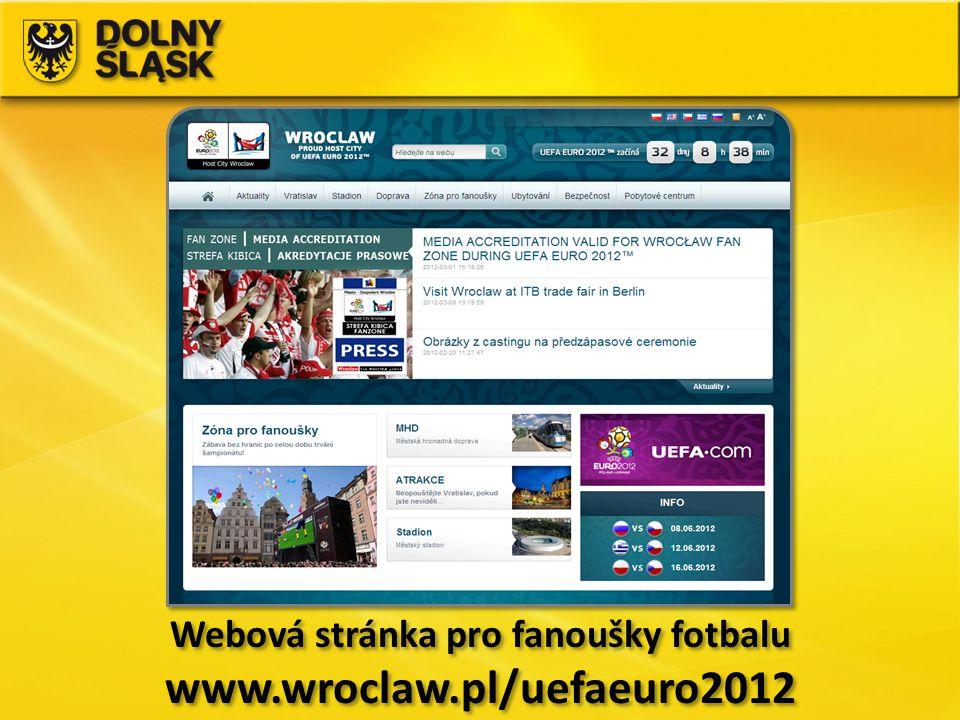 Webová stránka pro fanoušky fotbalu www.wroclaw.pl/uefaeuro2012 Webová stránka pro fanoušky fotbalu www.wroclaw.pl/uefaeuro2012