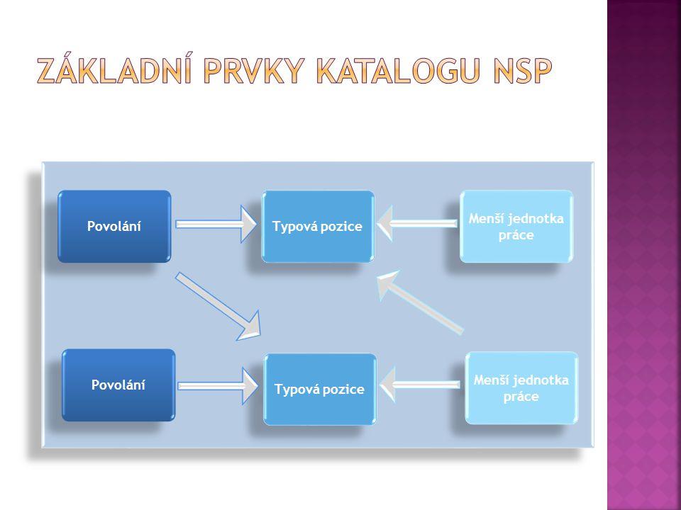  Povolání (P): soubor souvisejících pracovních činností, vyžadujících soubor kompetencí, vyjadřuje společný kvalifikační základ souvisejících typových pozic a menších jednotek práce – př.