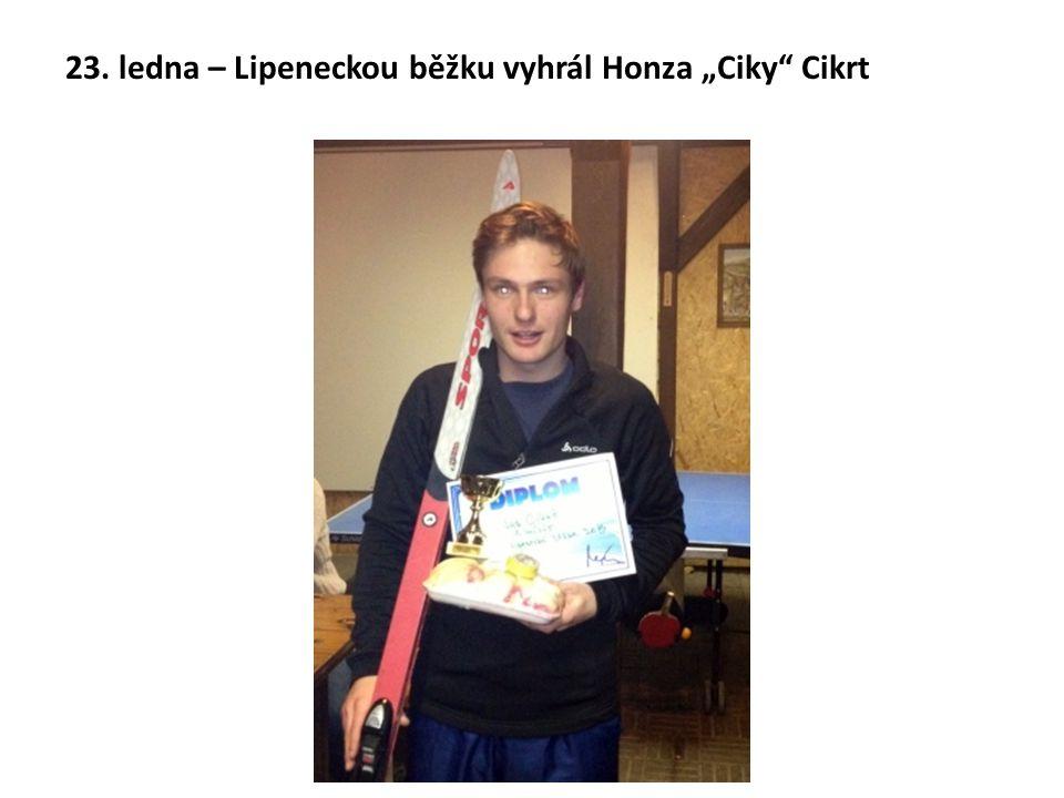 """23. ledna – Lipeneckou běžku vyhrál Honza """"Ciky"""" Cikrt"""