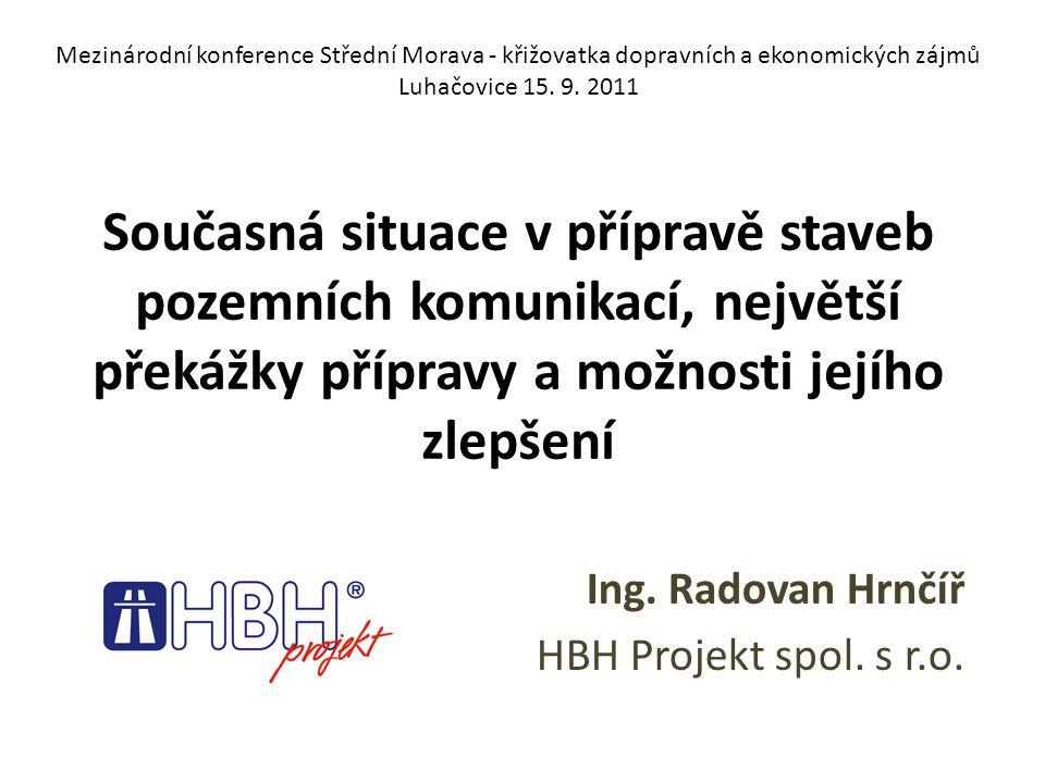 Mezinárodní konference Střední Morava - křižovatka dopravních a ekonomických zájmů Luhačovice 15.