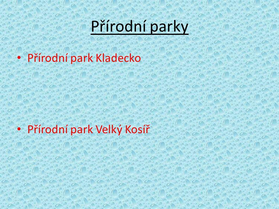 Přírodní parky • Přírodní park Kladecko • Přírodní park Velký Kosíř