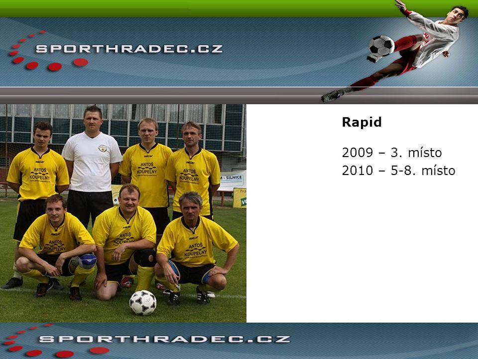 Rapid 2009 – 3. místo 2010 – 5-8. místo