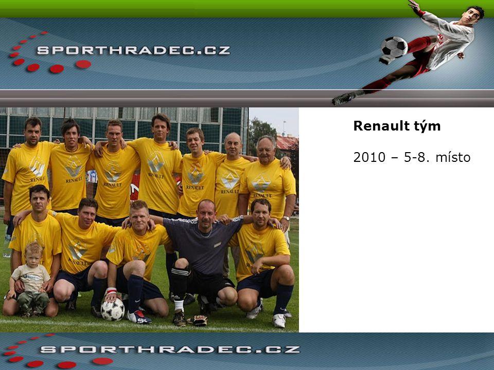 Renault tým 2010 – 5-8. místo