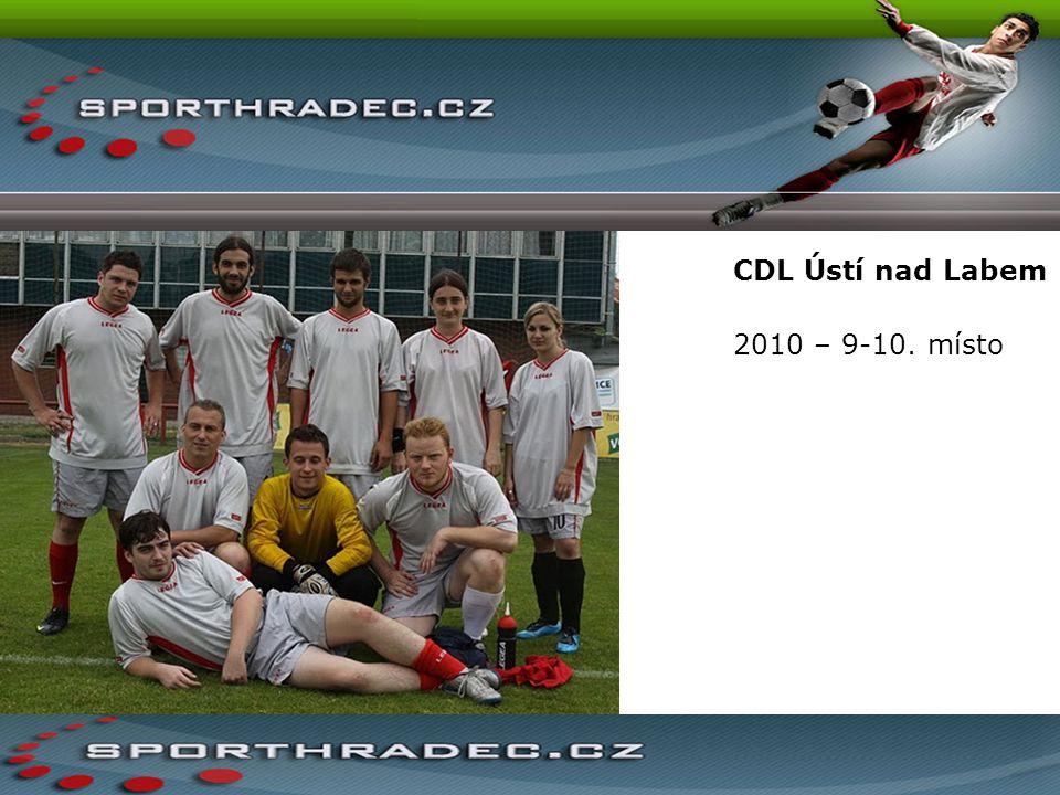 CDL Ústí nad Labem 2010 – 9-10. místo