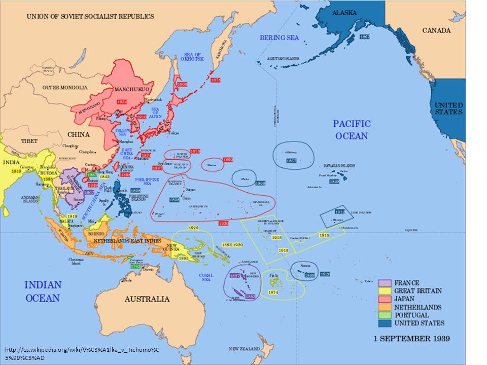 • Válka v Tichomoří byla důležitá část druhé světové války, začala 7.
