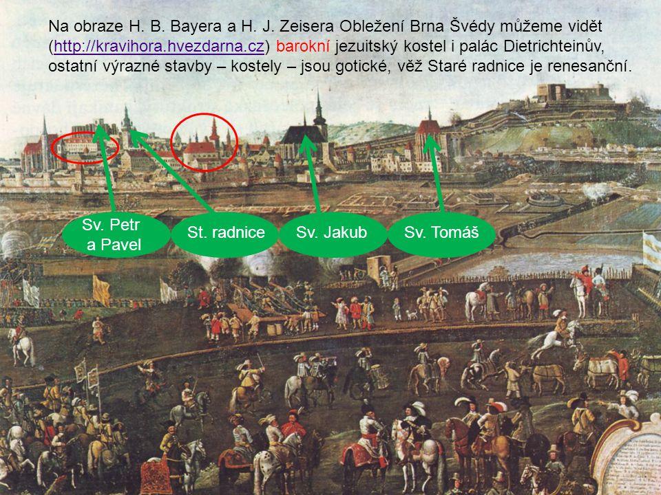 Další budování církevních i světských staveb v Brně pozastavila válka.
