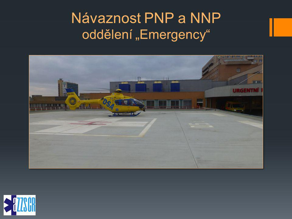 """Návaznost PNP a NNP oddělení """"Emergency"""""""