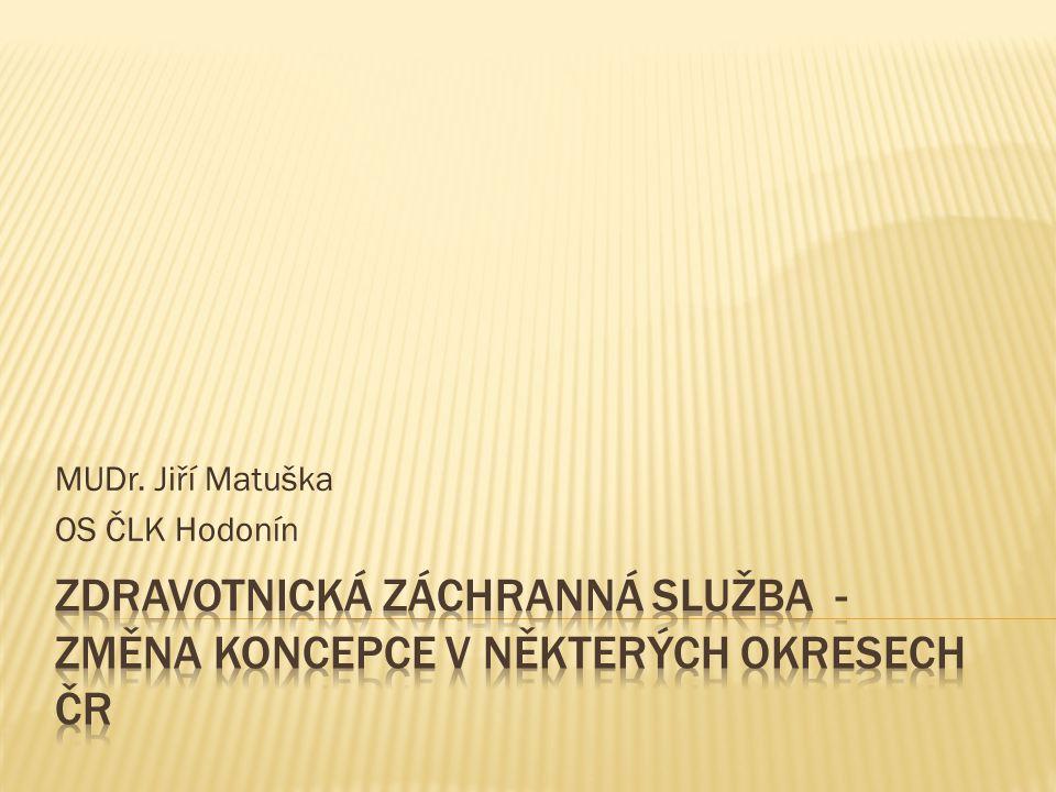 MUDr. Jiří Matuška OS ČLK Hodonín