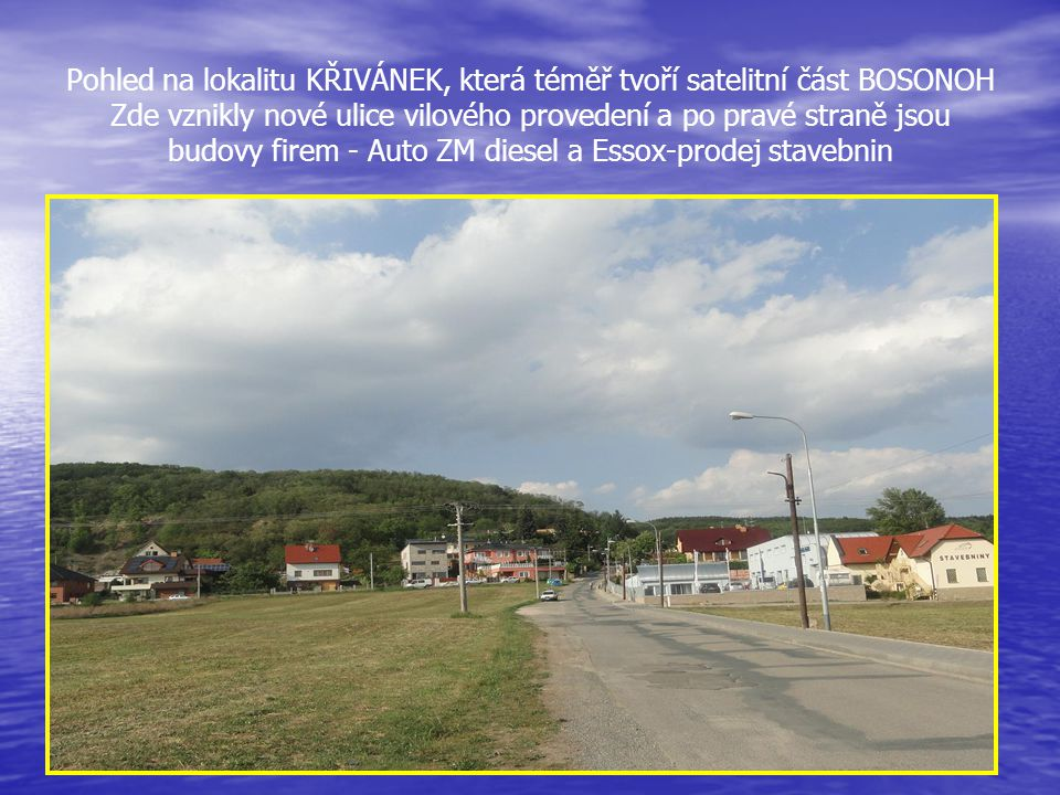 Z ulice Křivánky - celkový pohled na velikost UČILIŠTĚ, kde jsou dílny, učebny a ubytovací budovy, které jsou podélně u Skalní ulice…..