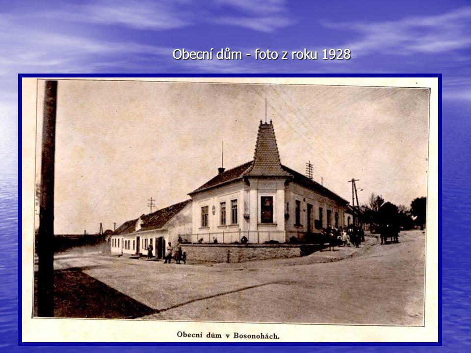 Obecní dům - budova Úřadu městské části Brno-Bosonohy, ulice Bosonožské náměstí 1