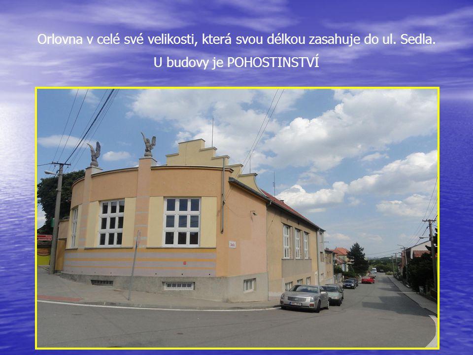 ORLOVNA je u hlavní silnice - Pražská 55 a je využívána hlavně ke kulturním účelům….
