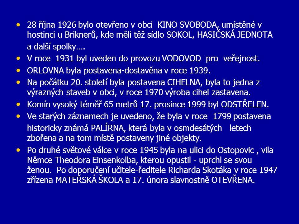 • Prvním lékařem v roce 1898 byl MUDr. Kyncl z Letovic a vystřídal jej v roce 1899 MUDr. Jan Dřímal do roku 1922. • Od roku 1922 byl obvodním lékařem
