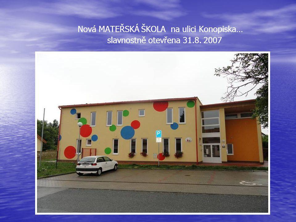 Budova školy na Ostopovické ulici Po rekonstrukci a pod novým názvem BOSA - pro využití volného času, bude zprovozněna v červnu 2012