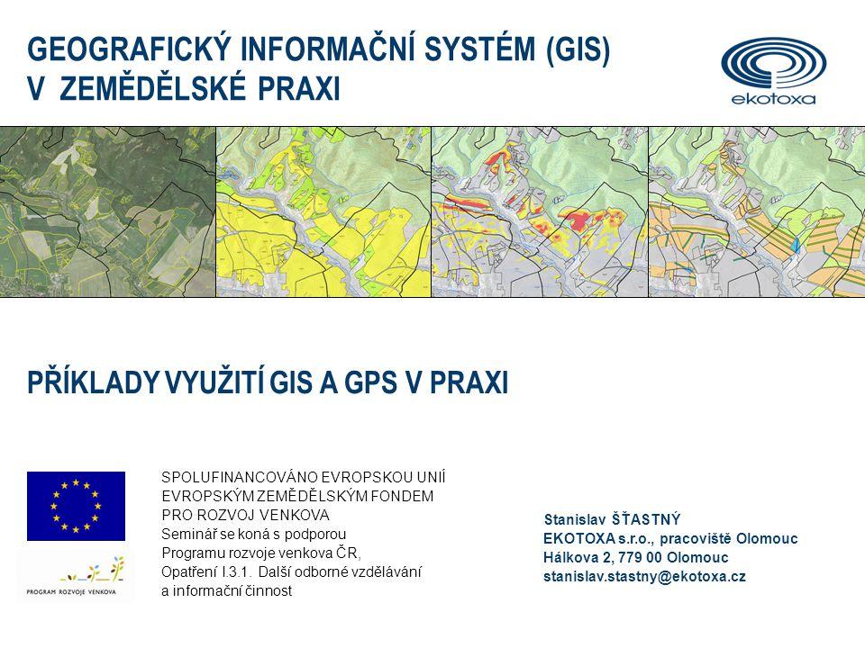 GIS V ZEMĚDĚLSKÉ PRAXI2 GPS A GNSS  Určení polohy a nadmořské výšky téměř kdekoliv a kdykoliv  Navigace osob a mobilních objektů, měření rychlosti pohybu • evropský systém (EU) • plánováno 30 družic, spuštění 2014 .