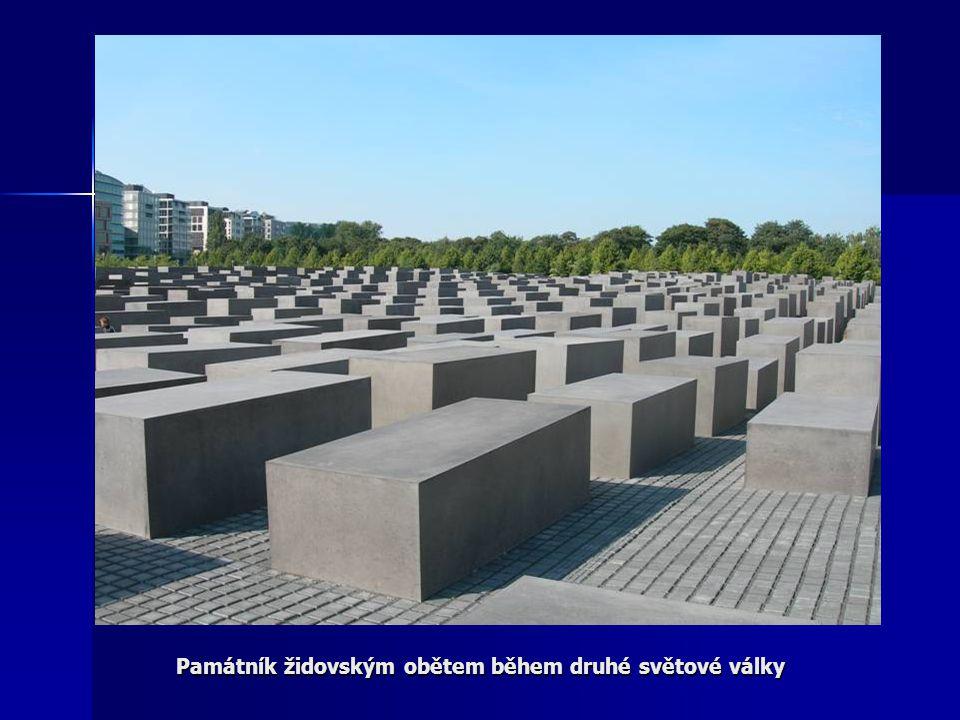 Památník židovským obětem během druhé světové války