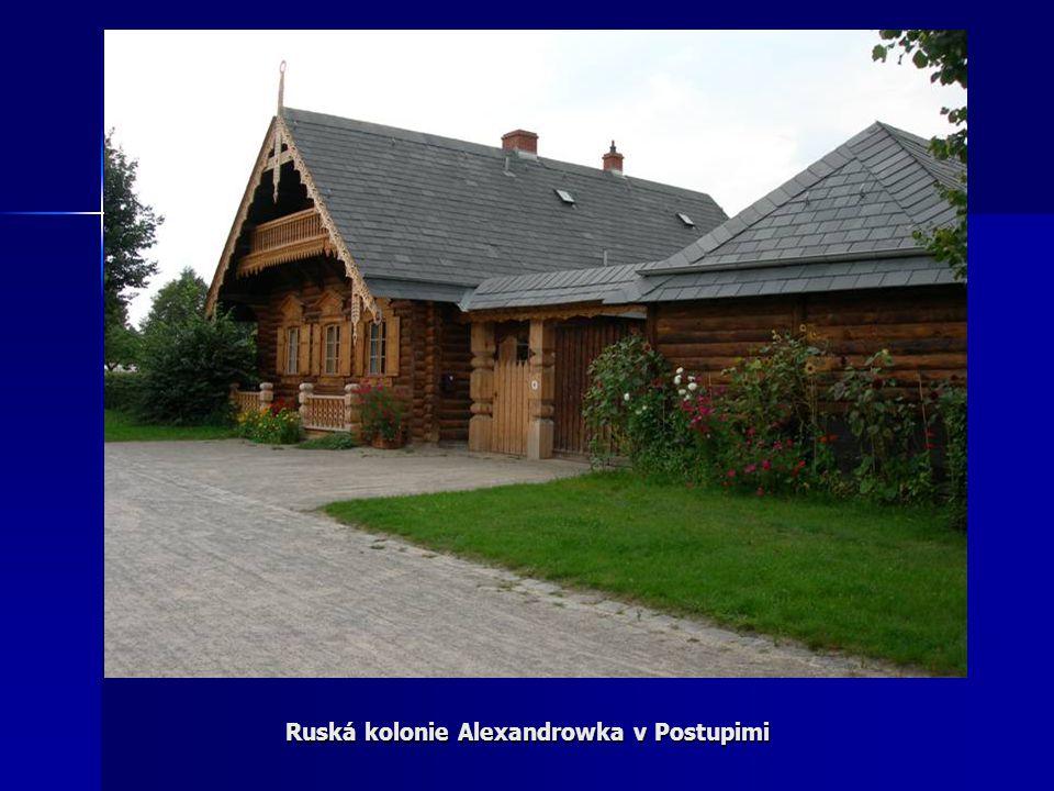 Ruská kolonie Alexandrowka v Postupimi
