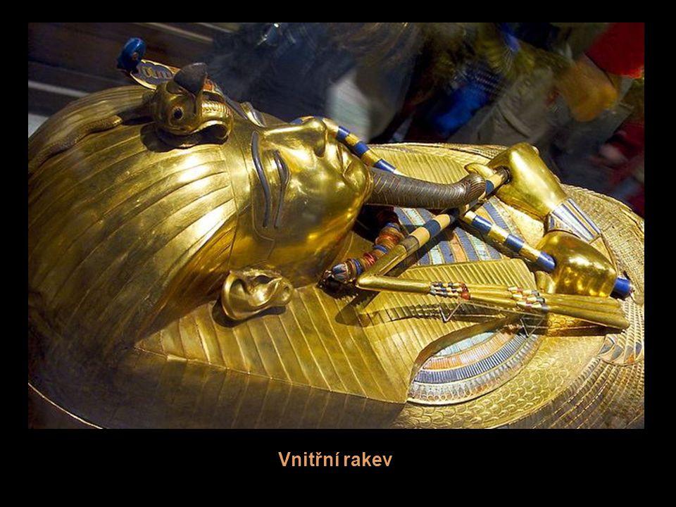 Druhý sarkofág Tutanchámona