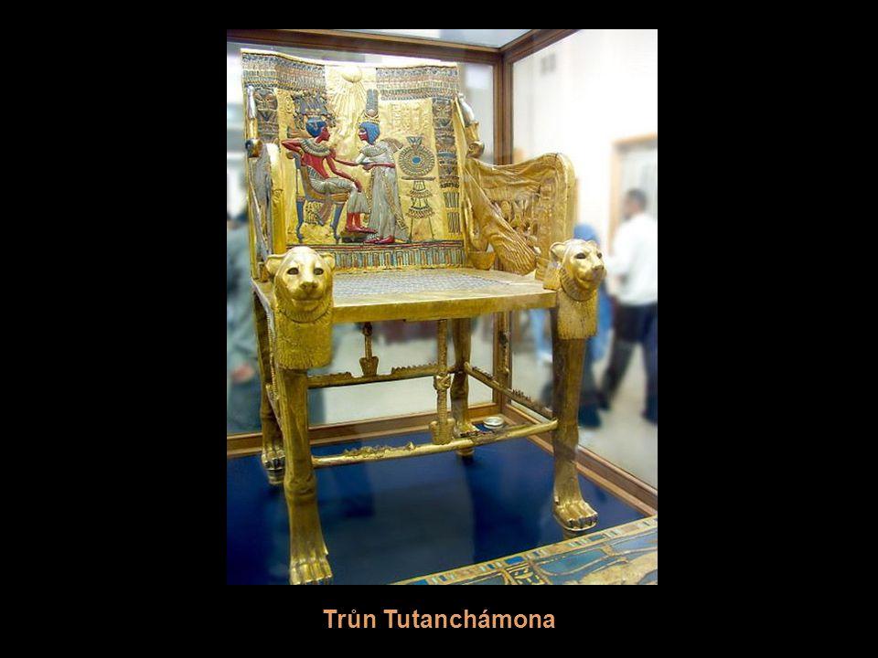 Trůn Tutanchámona