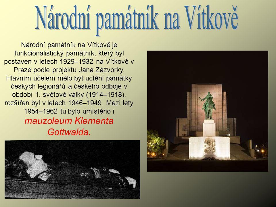 Národní památník na Vítkově je funkcionalistický památník, který byl postaven v letech 1929–1932 na Vítkově v Praze podle projektu Jana Zázvorky. Hlav