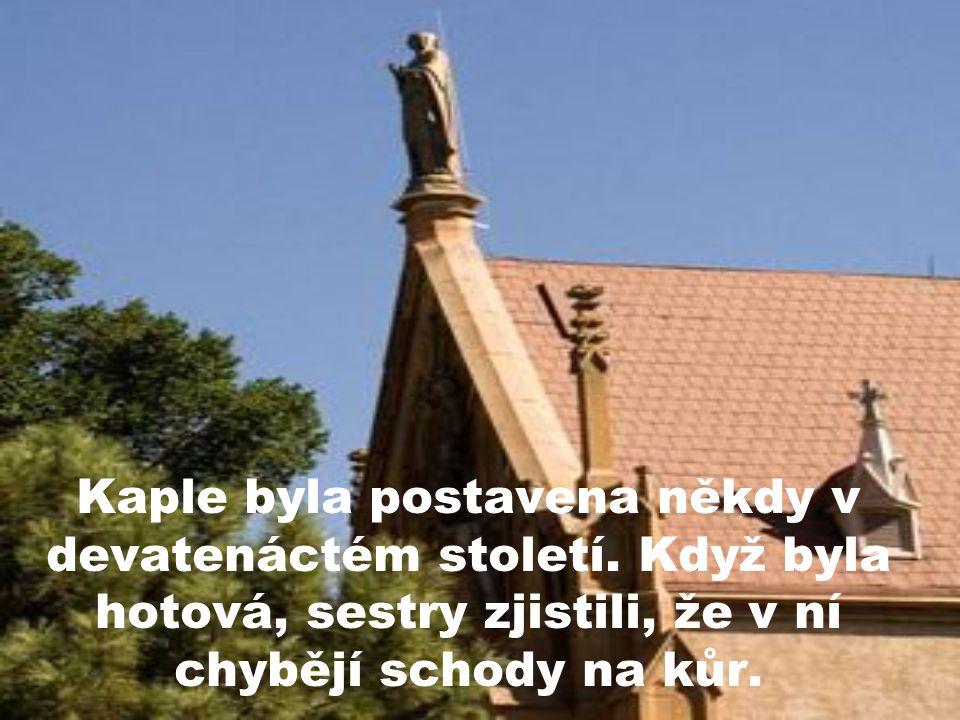 Kaple byla postavena někdy v devatenáctém století.