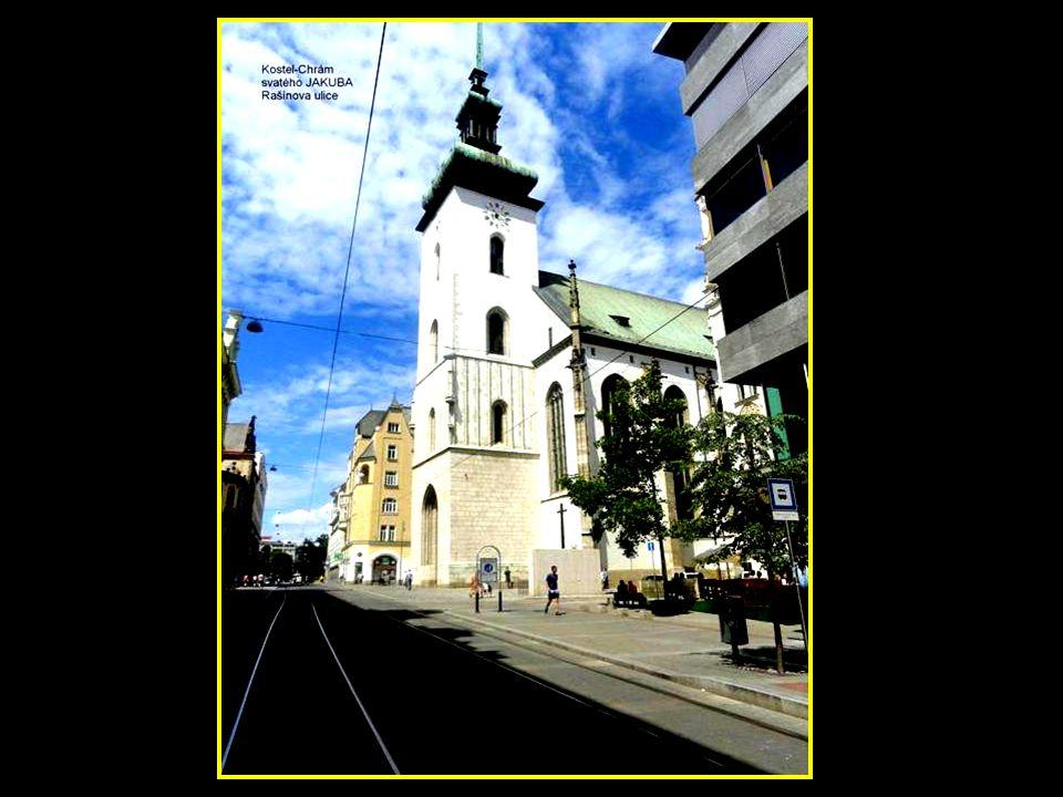 Kostel sv. Tomáše-boční pohled