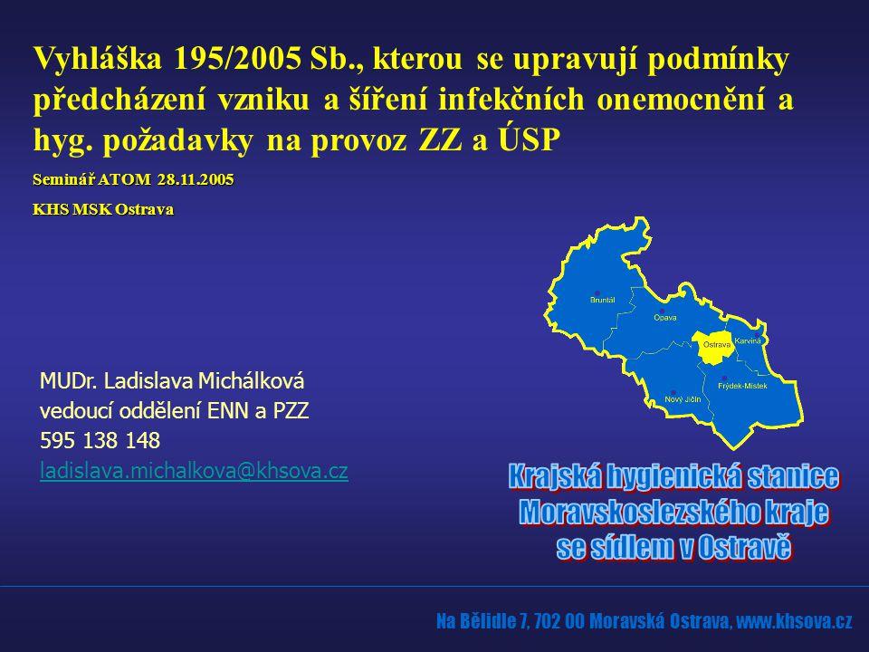 Na Bělidle 7, 702 00 Moravská Ostrava, www.khsova.cz MUDr.