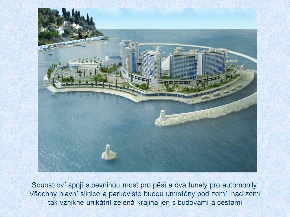 Rusko se také chystá do zahájení zimní olympiády postavit v Černém moři poblíž Soči umělé souostroví. To se bude sestávat ze sedmi hlavních a více než