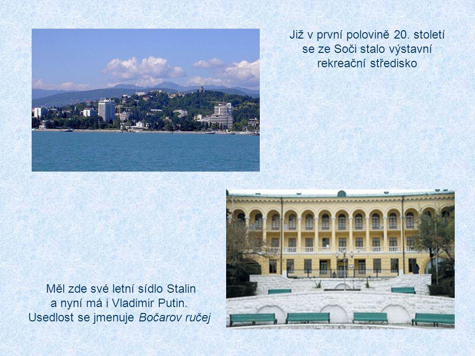 Horské středisko Krásná Poljana je 49 km od centra Horská sportoviště budou od sebe vzdálena maximálně 16 minut jízdy a tato oblast bude mít vlastní vesnici