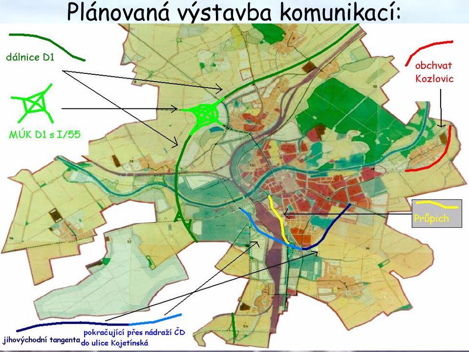 Přínos této výstavby Městu: •90% tranzitní dopravy neprojede městem, jak je tomu doposud.