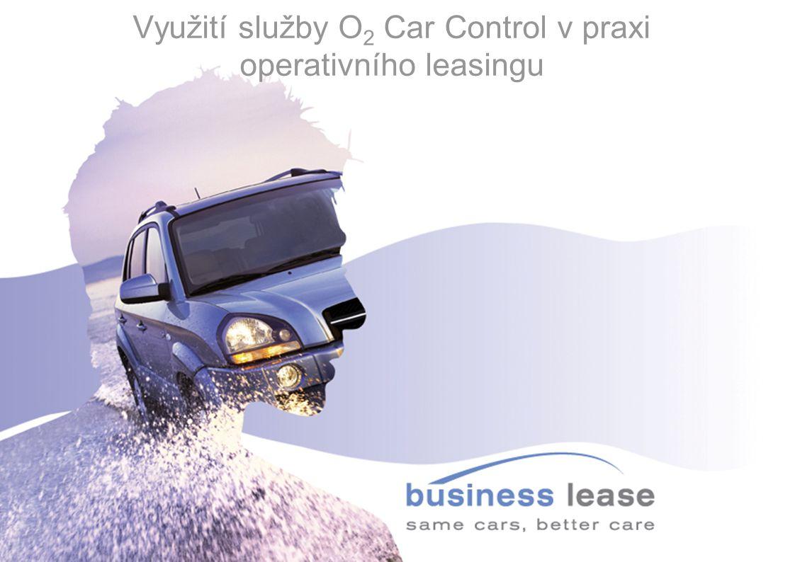 Využití služby O 2 Car Control v praxi operativního leasingu